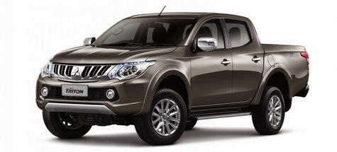 Mitsubishi Strada Triton's New, More Efficient!