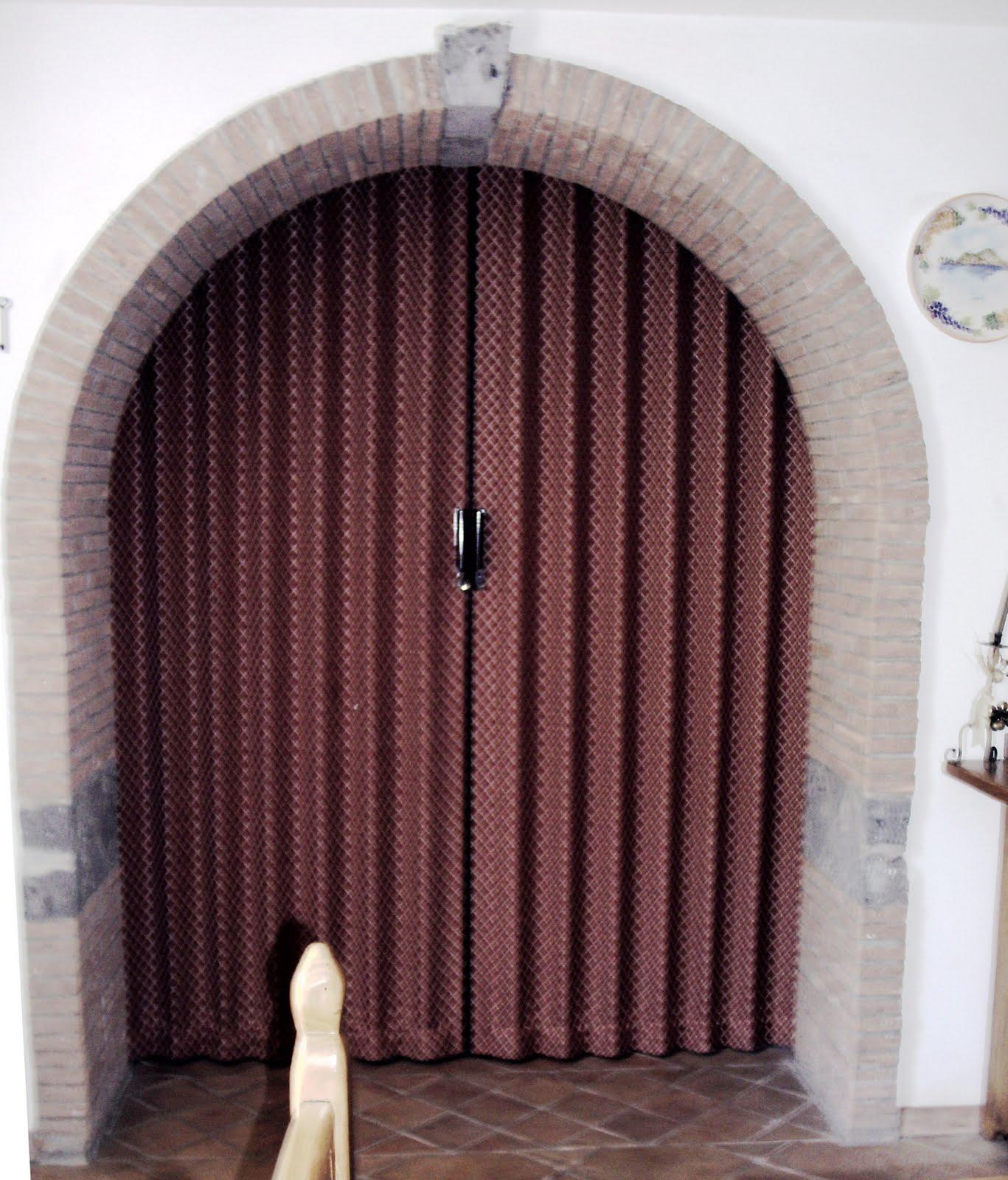 Porte a soffietto porte a soffietto in tessuto - Porte con arco ...