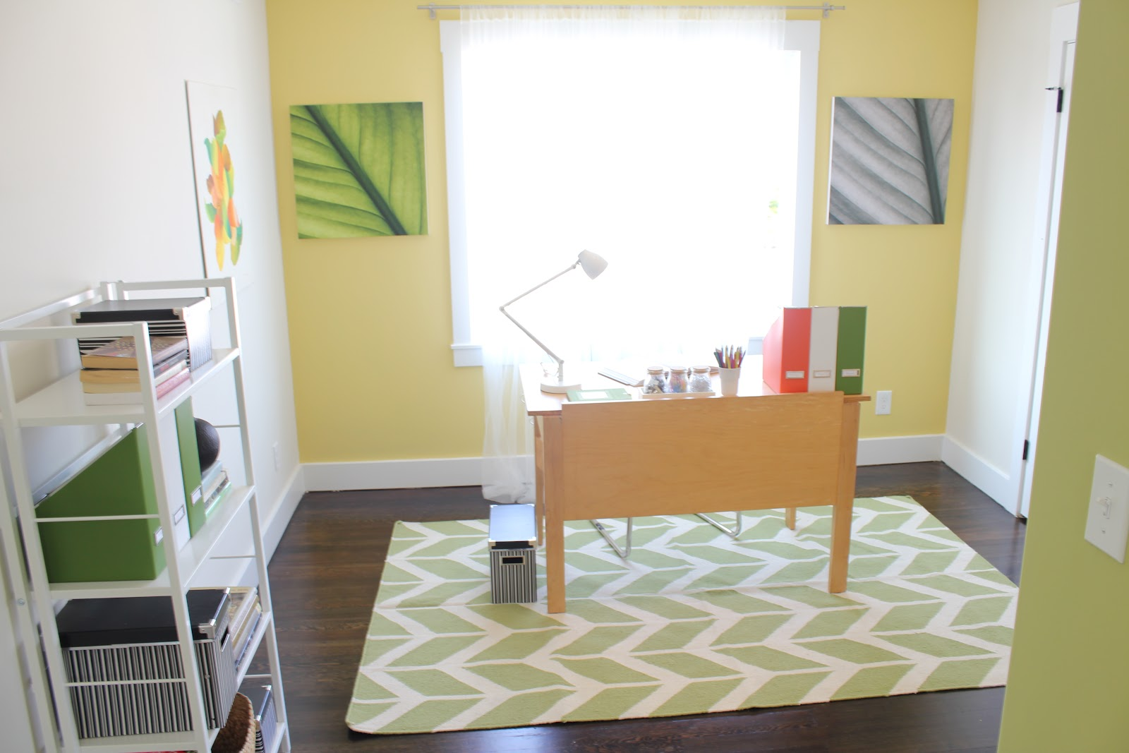 We Featured Green On The Upstairs Wall Kids Room Walls Photo Below And In Pieces Such As Rugs Artwork Books Throughout Home