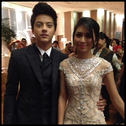 Kathryn Bernardo and Daniel Padilla (KathNiel), Star Magic Ball 2013 'Couple of the Night'