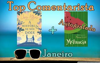 #Top Comentarista - Janeiro!