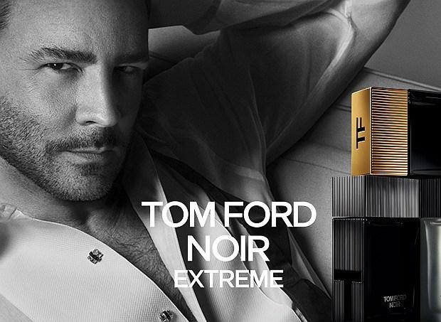 Tom Ford w kampanii Noir Extreme