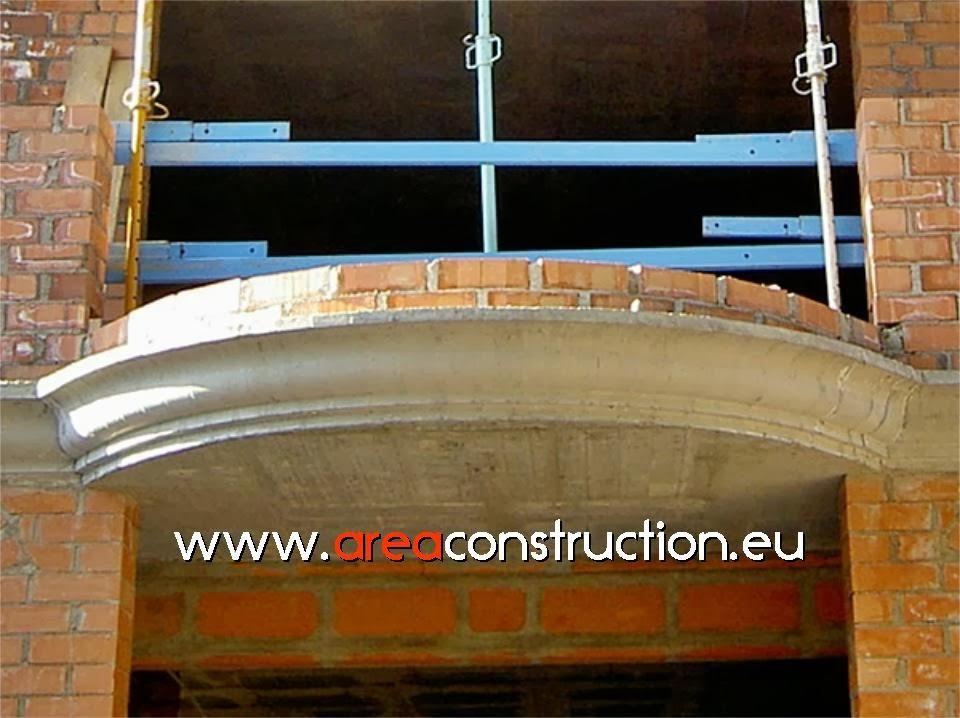 Proceso constructivo de balconera con piedra ornamental - Ladrillo ceramico perforado ...