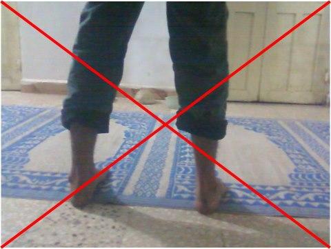 namaztakhnye2 - Pant Fold kar ke Namaz na padhe(پینٹ کے پائنچے موڑنا مکروہ تحریمی