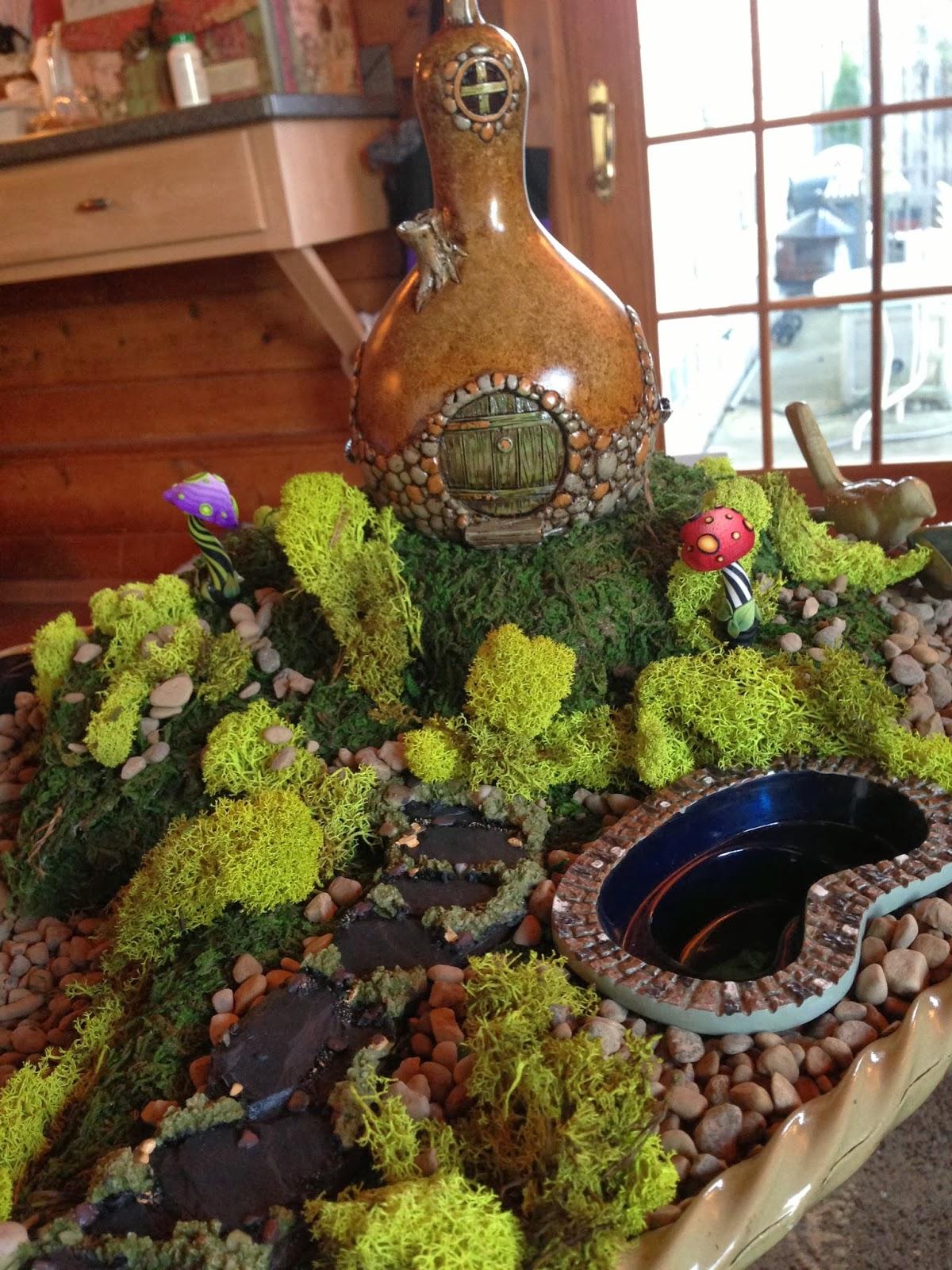 Patti\'s Creations: Fairy Garden