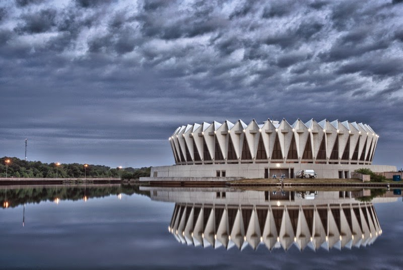 Hampton Coliseum in Hampton Virginia
