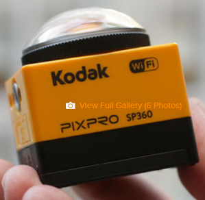 Kodak PIXPRO SP360 PC Software Download - Review