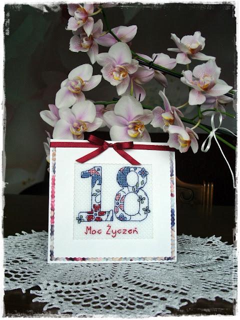Urodzinowo dla 18-stki.