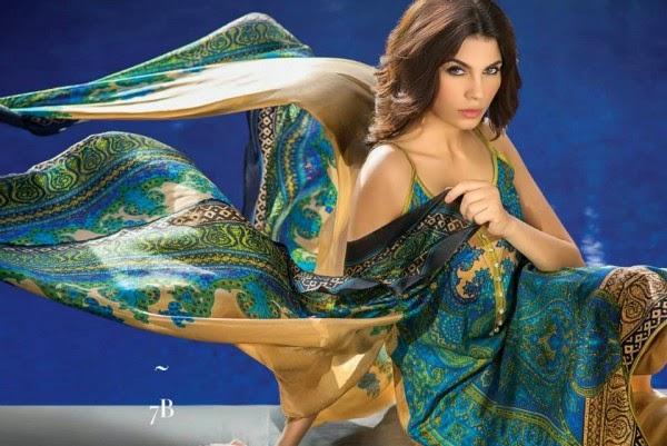 Sana Safinaz 2014 lawn prints