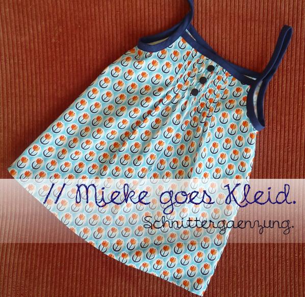 // Schnittergänzung: Mieke goes Kleid.