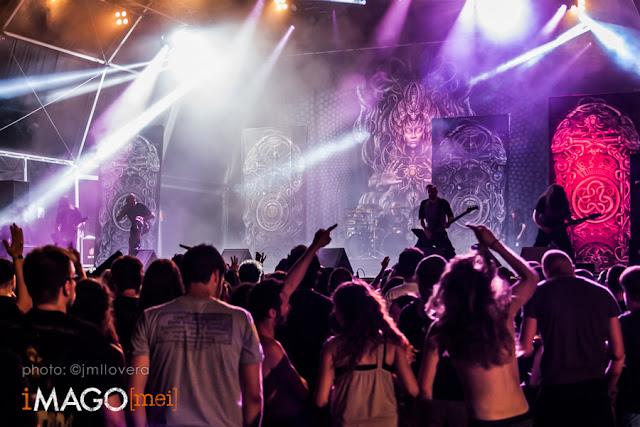 Meshuggah @ Be Prog! My Friend, Poble Espanyol 11-07-2015