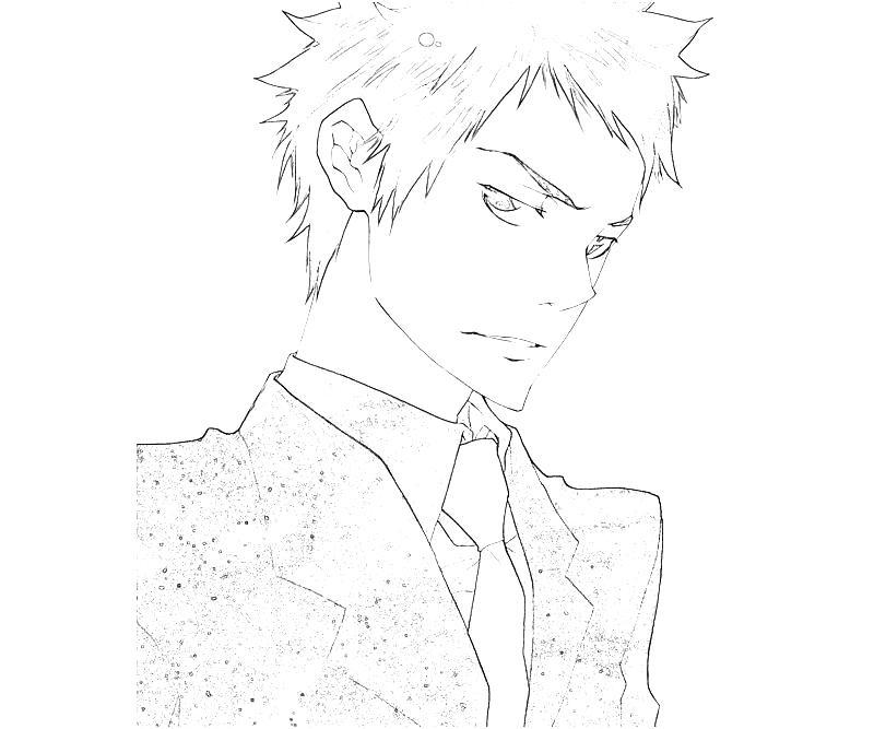 printable-takeshi-yamamoto-handsome-coloring-pages