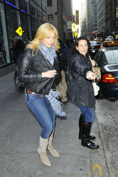 Laura Prepon Leaving 'the Today Show' In Nyc