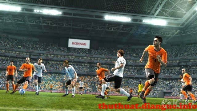 Tải Pes 2012 full 1 link speed