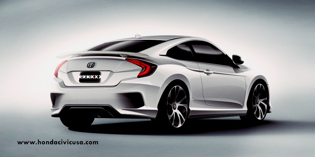 2017 Honda Civic Coupe Specification And Review USA | Honda Civic ...