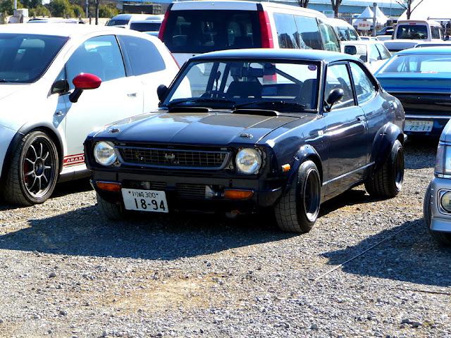 Toyota Corolla Levin TE27, japoński sportowy samochód, klasyk, stary, oldschool, coupe