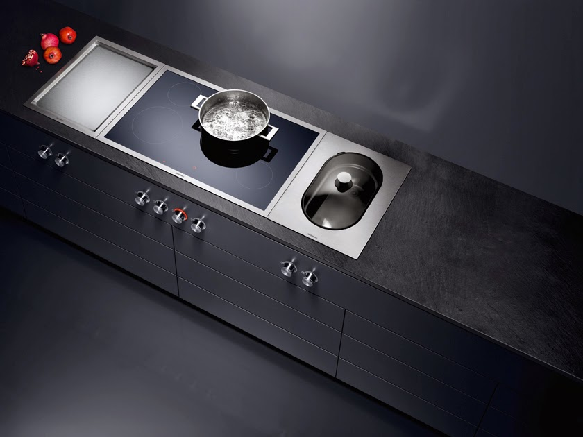 Gaggenau presents the ovens vario cooktops 400 series for Plaque induction zone libre