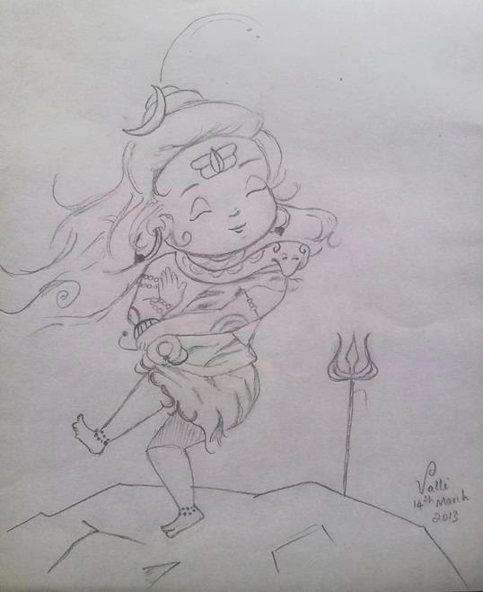 baby Lord Shiva