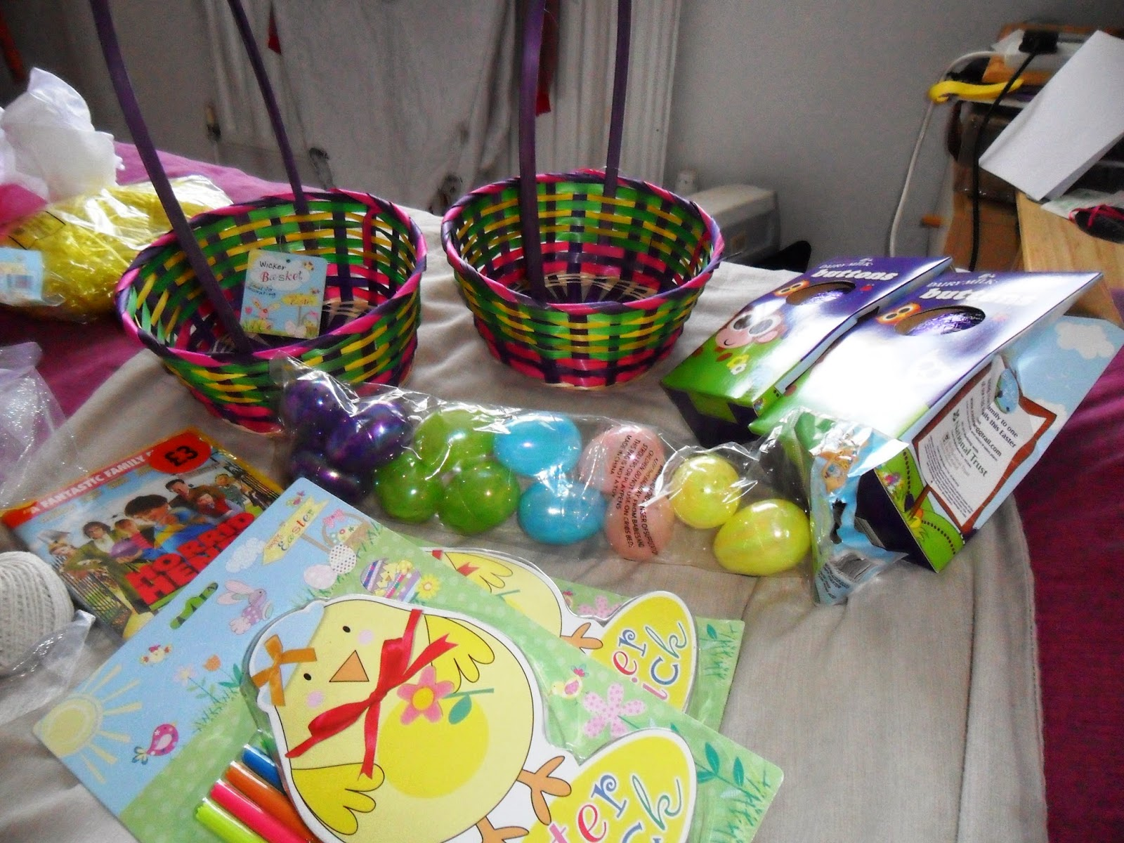 Confessions of a single parent pessimist homemade easter gifts homemade easter gifts for my boys negle Choice Image