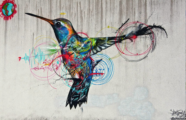 Street Art By L7M For Goodbye Monopole 2 Festival In Luxembourg City, Luxembourg. 10