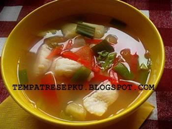 Resep sup ikan tenggiri