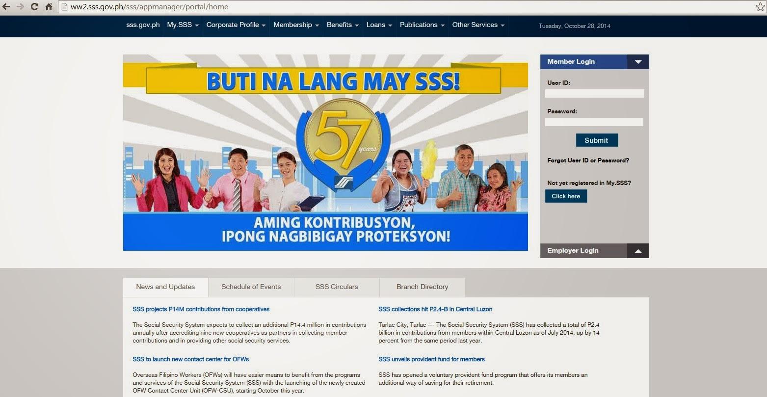 SSS new website
