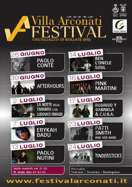 Festival Villa Arconati 2012 Milano