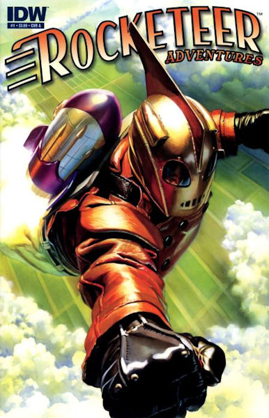 The Qwillery Wednesday Comics On Thursday Rocketeer Adventures