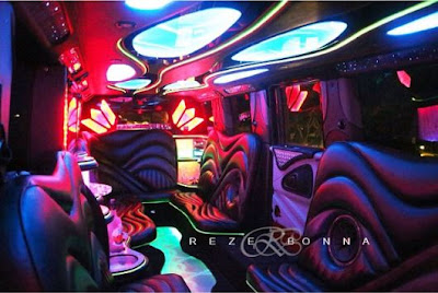 Check Out Inside PSquare's Luxurious Limo Truck