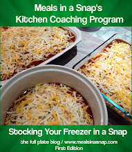 "ON SALE IN OCTOBER FOR ONLY $9.99!! FAQ: ""stock your freezer in a snap"" kitchen coaching"