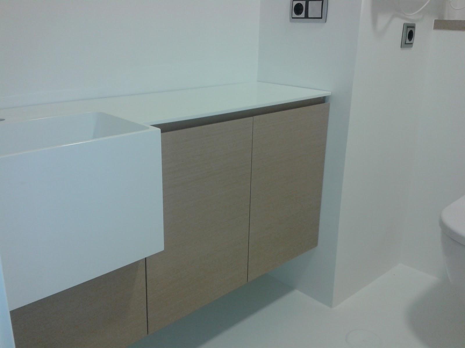 Muebles De Baño Gris Ceniza:BAÑOS II (Roble tintado ceniza)