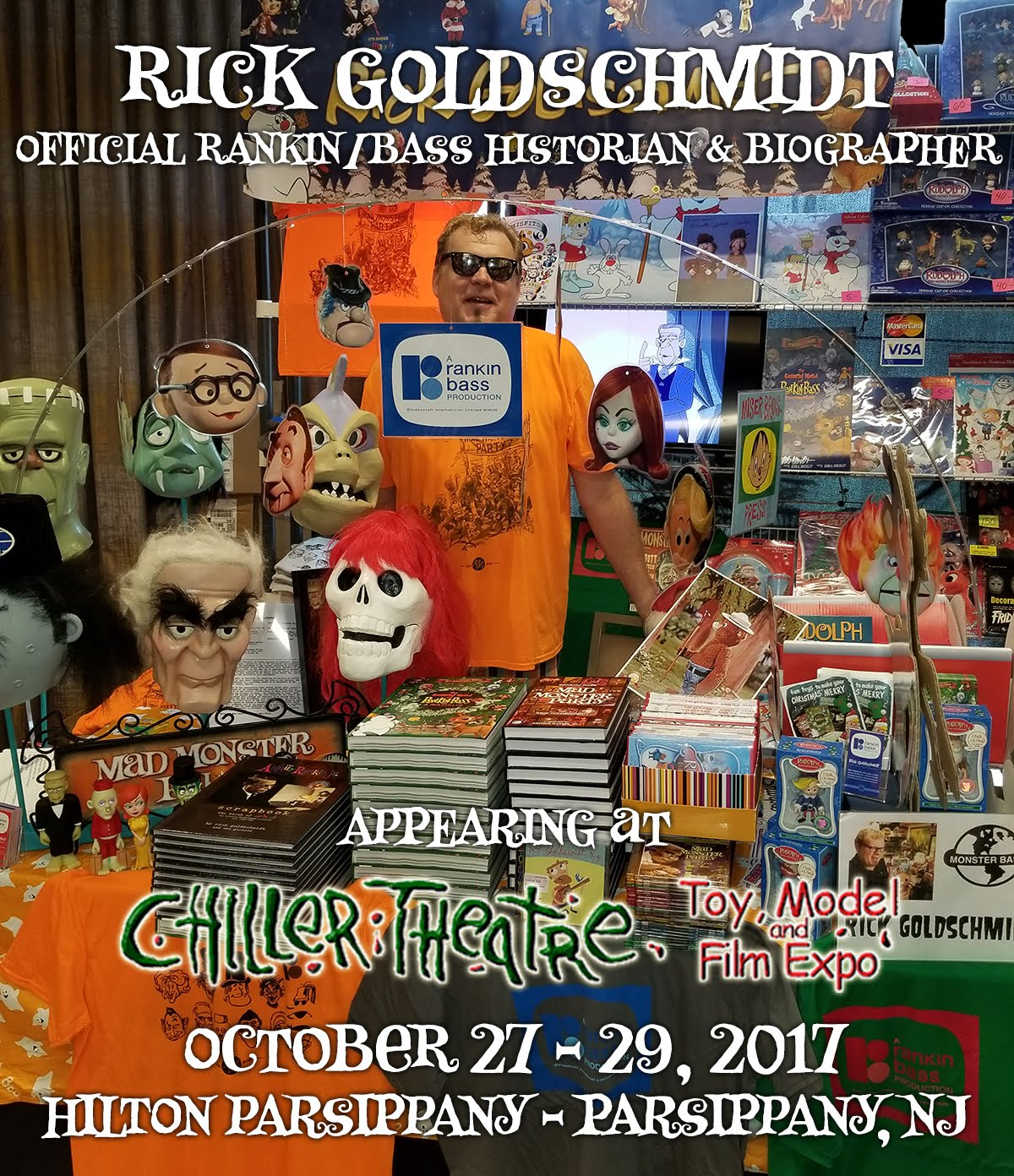 I will return to CHILLER THEATRE Halloween edition October 27-29, 2017