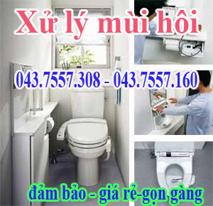 dịch vụ xử lý mùi hôi,khu chung cư,xí nghiệp