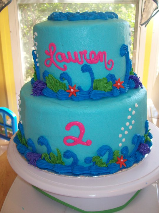 Bb Cakes The Little Mermaid Ariel Cake 2