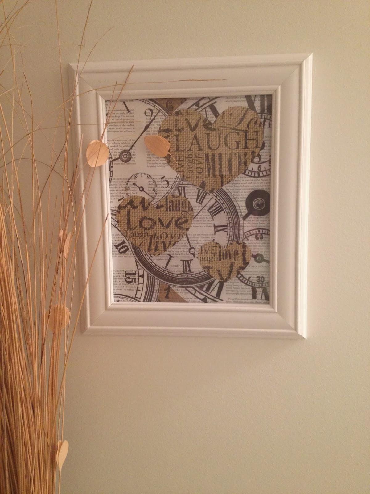 Diy Wall Art Using Scrapbook Paper : Diy wall decor scrapbook paper imgkid the