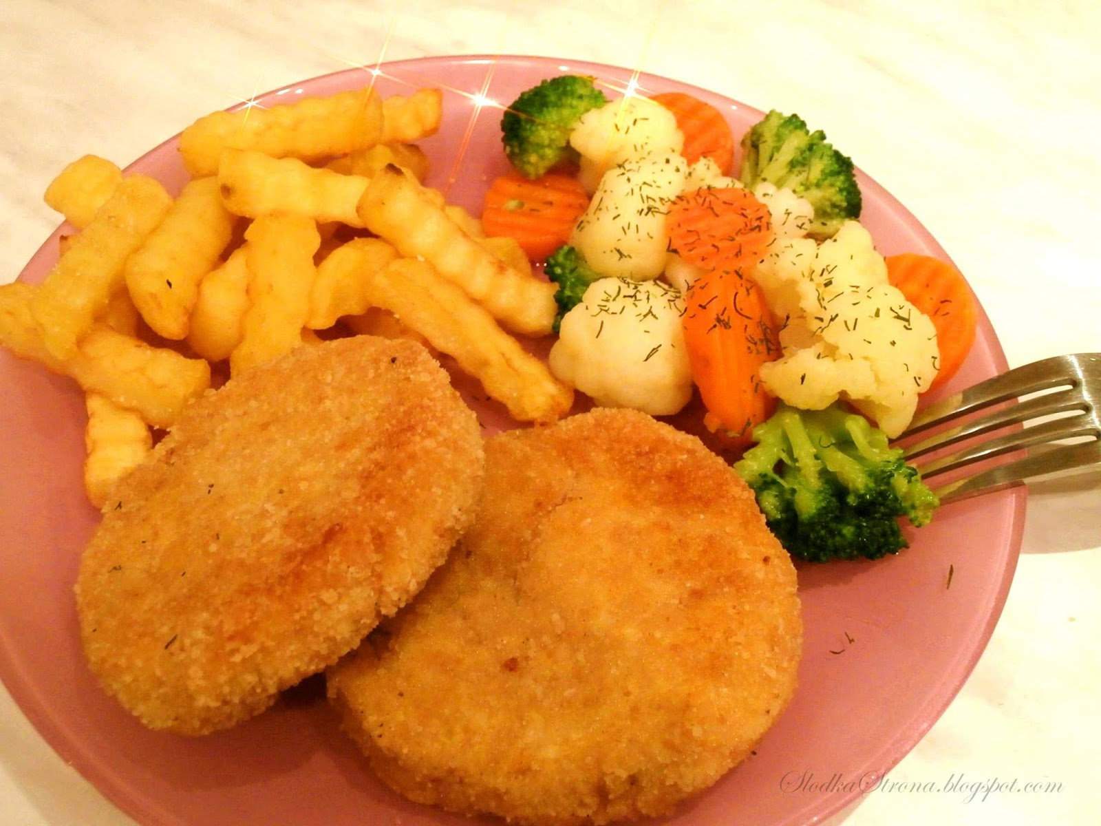 Kotlety z kurczaka na obiad