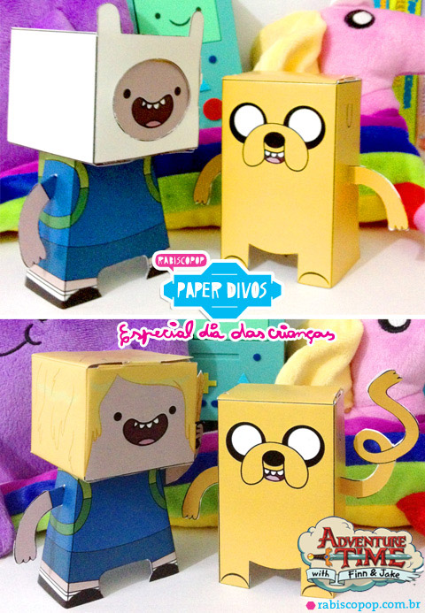 Adventure Time Paper Toys