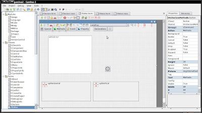 screenshot IDE gambas2