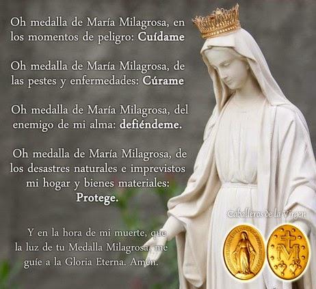Virgen Medalla Milagrosa