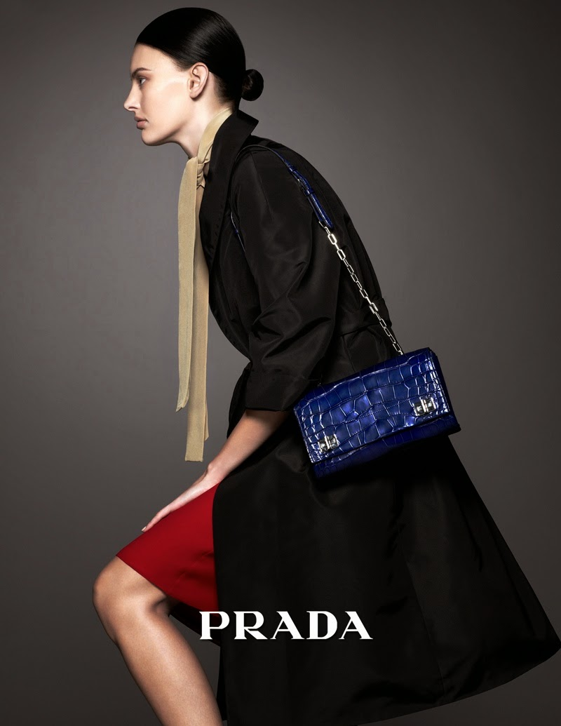 The Essentialist - Fashion Advertising Updated Daily: Prada ...