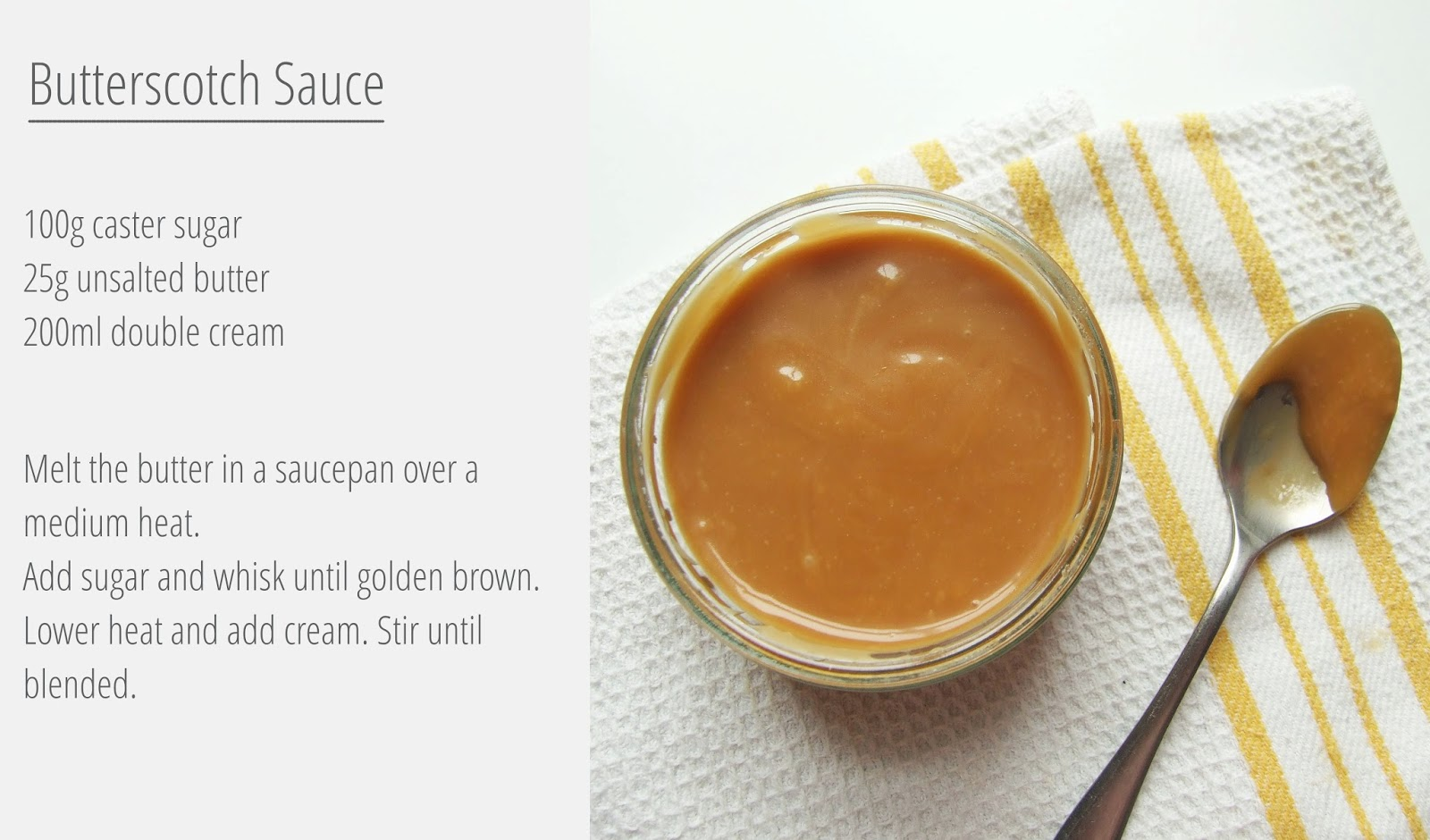 Butterscotch Sauce - Gathering Beauty