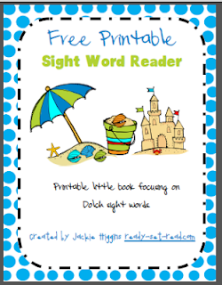 printable books, sight words, free printable