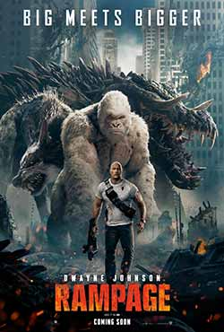 Rampage 2018 Hindi Dubbed ENG 340MB BluRay 480p