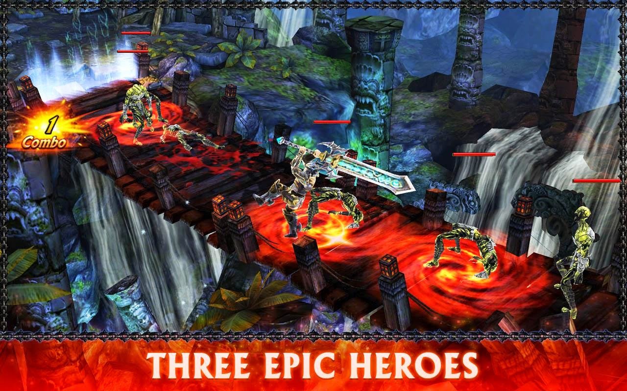 Eternity Warriors 3 v1.2.2 [Mod] APK+DATA