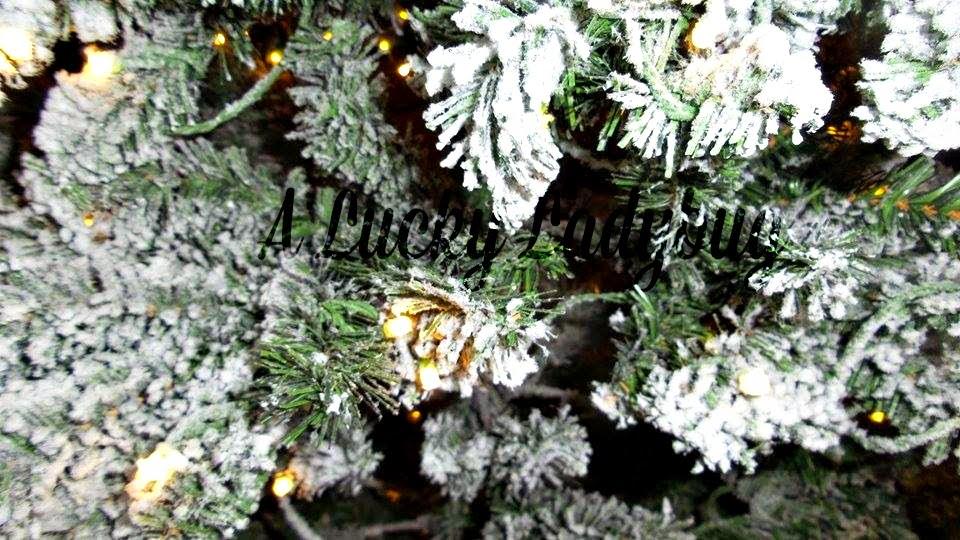 A Lucky Ladybug King Of Christmas King Flock Christmas Tree