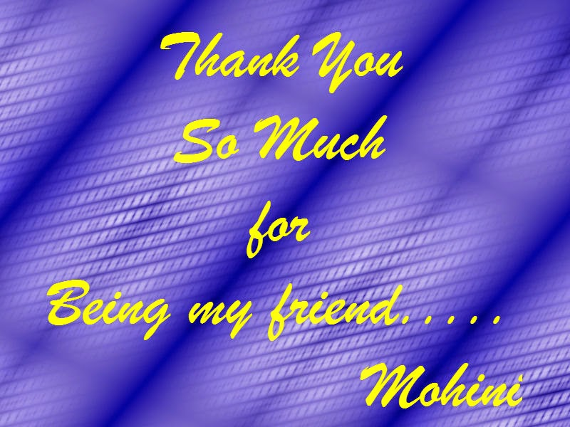 Poster: Thank You So Much For Being My Friend!