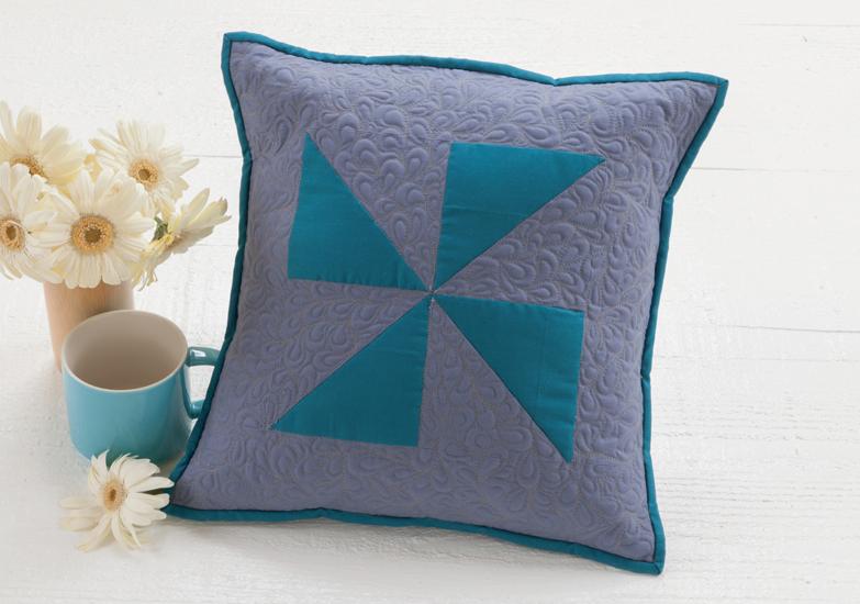 Paisley pillow