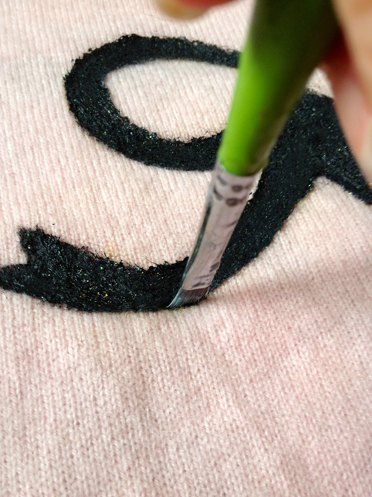 la vie DIY: Can You Paint on Sweaters? Should You?