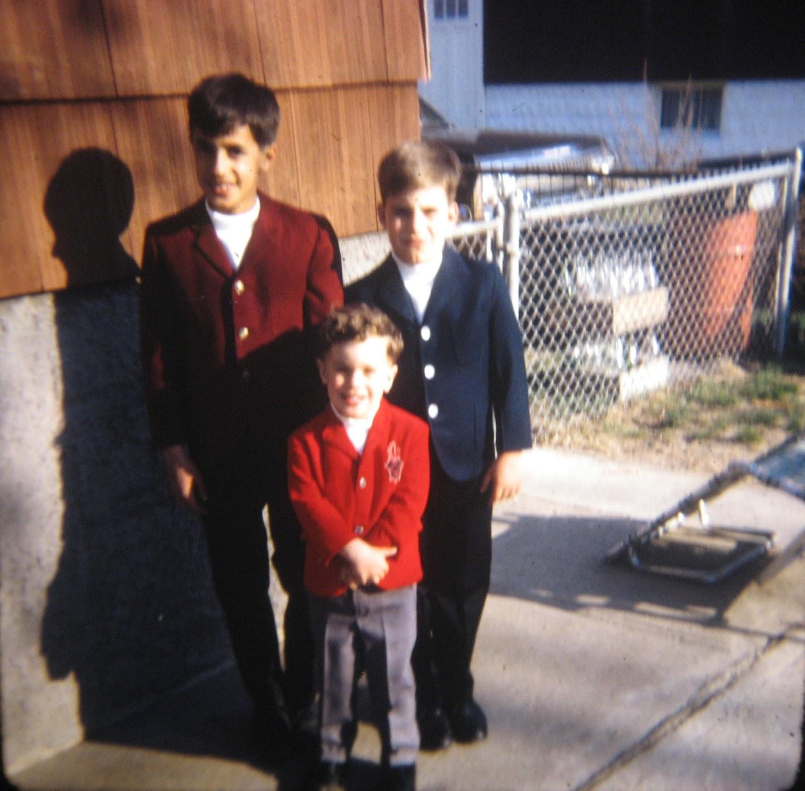 Joey, Tommy & Michael Mondello lookin' too good May 1968