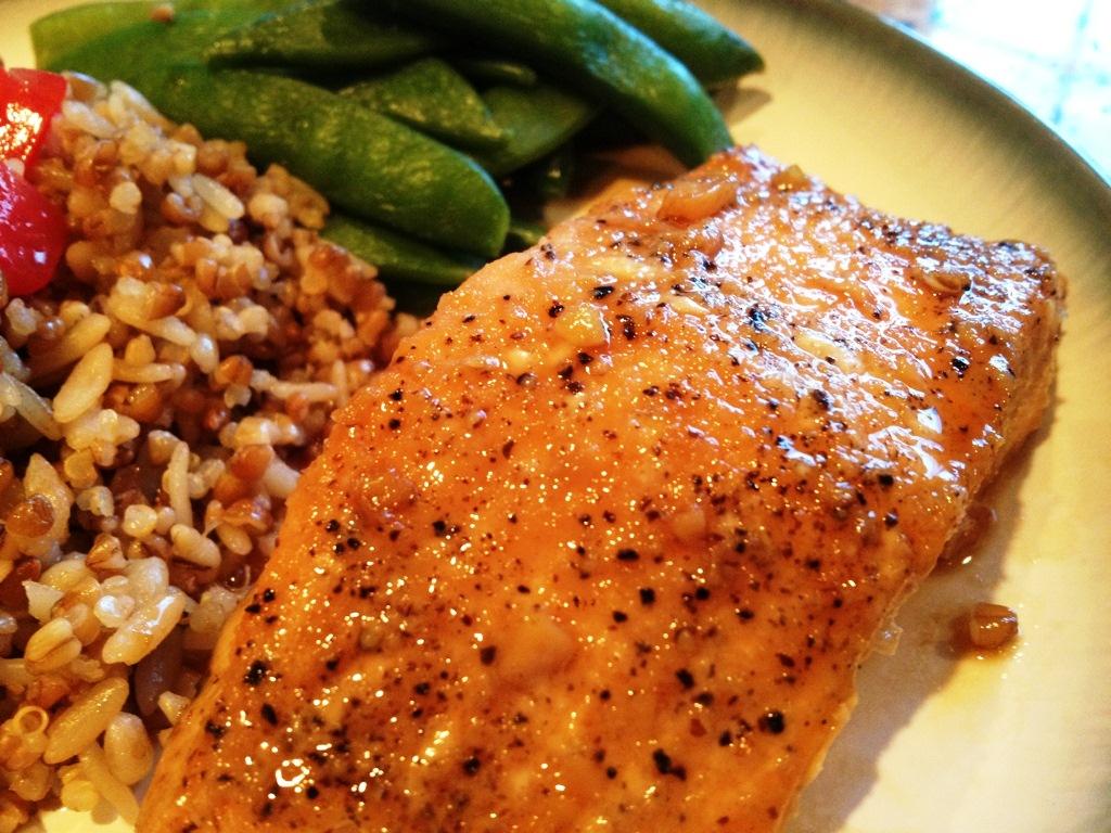 Glazed Salmon Image